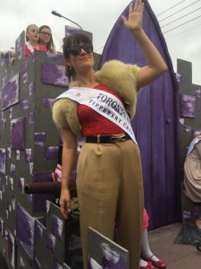 2016 Toronto Rose Petra O'Toole taking part in a parade in Tralee