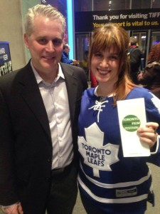 2016 Toronto Rose Petra with John Galway at the opening night of the Toronto Irish Film Festival